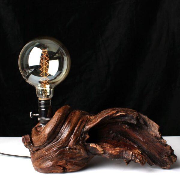 Ağaç Masa Lambası
