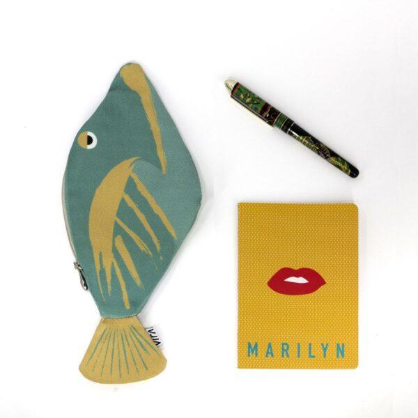 Picasso Trigerfish – Cüzdan & Kalemlik