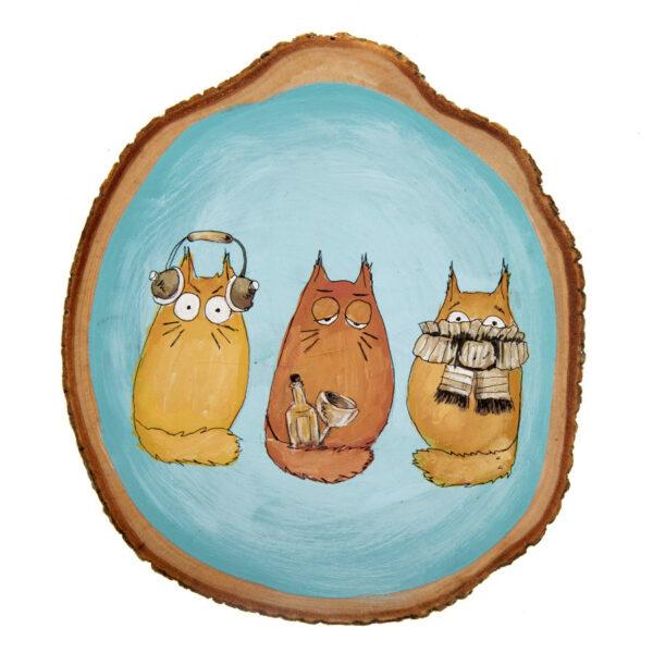 Duvar Panosu – Kediler