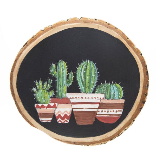 Duvar Panosu – Kaktüsler