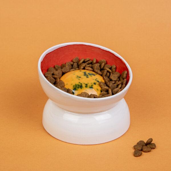 Seramik Mama Kabı – Slow Feeding – Köpek