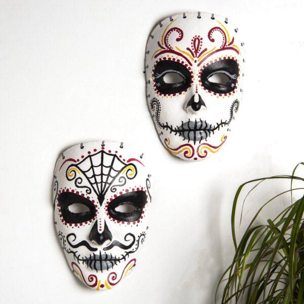 Duvar Dekoru Maske – 2'li