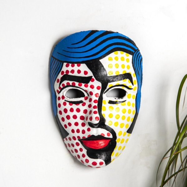 Duvar Dekoru Maske