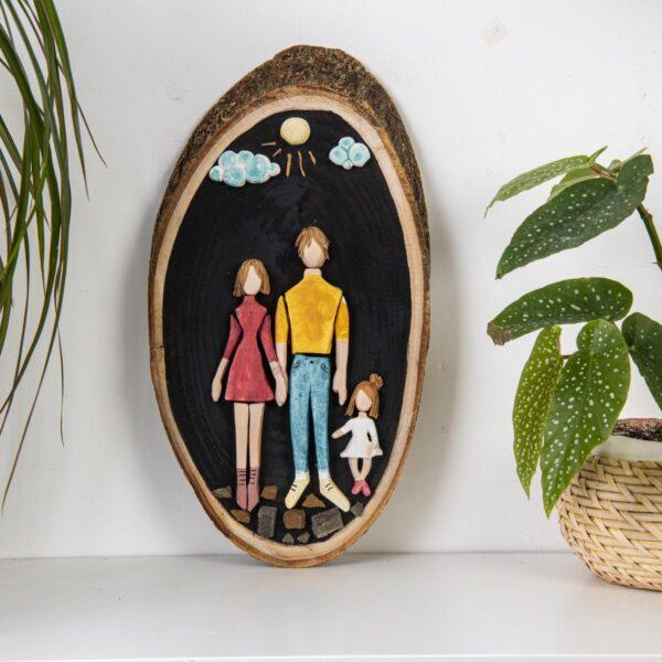 Duvar Panosu – Bizim Aile