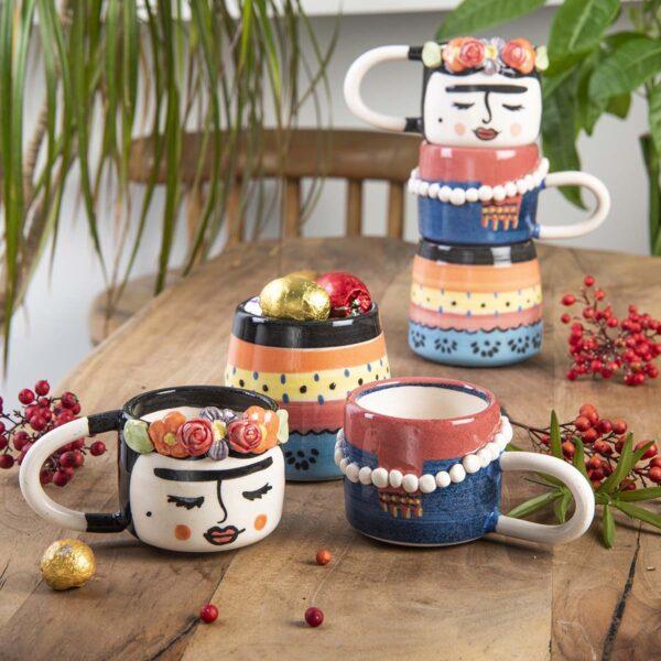 Seramik Kahve Takımı – Frida