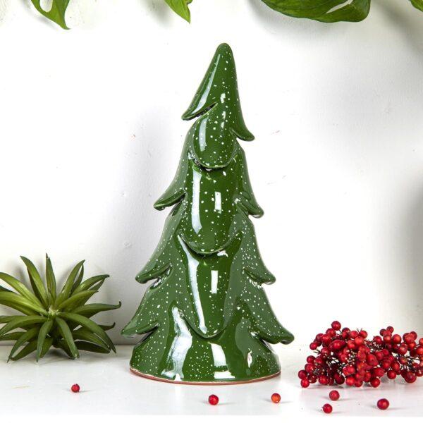 Dekoratif Seramik Çam Ağacı – Büyük Boy