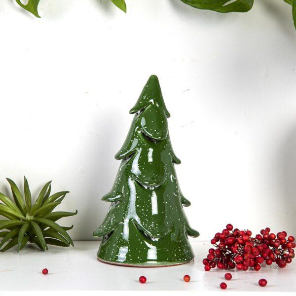 Dekoratif Seramik Çam Ağacı – Orta Boy
