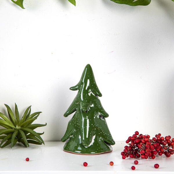 Dekoratif Seramik Çam Ağacı – Küçük Boy