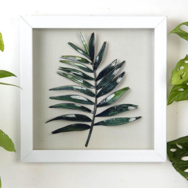 Kağıt Rölyef Tablo – Yaprak