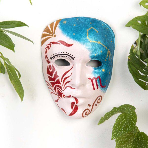 Duvar Dekoru Maske – Akrep Burcu