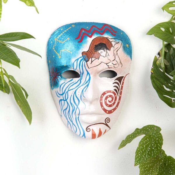 Duvar Dekoru Maske – Kova Burcu