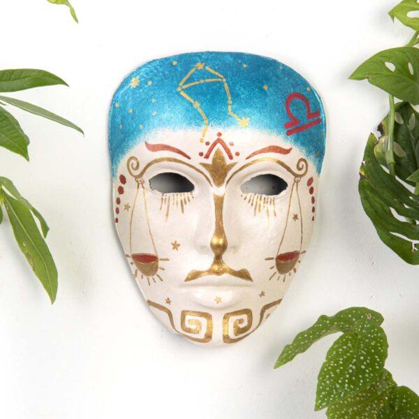 Duvar Dekoru Maske – Terazi Burcu