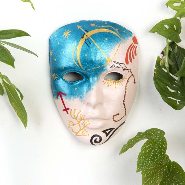 Duvar Dekoru Maske – Yay Burcu