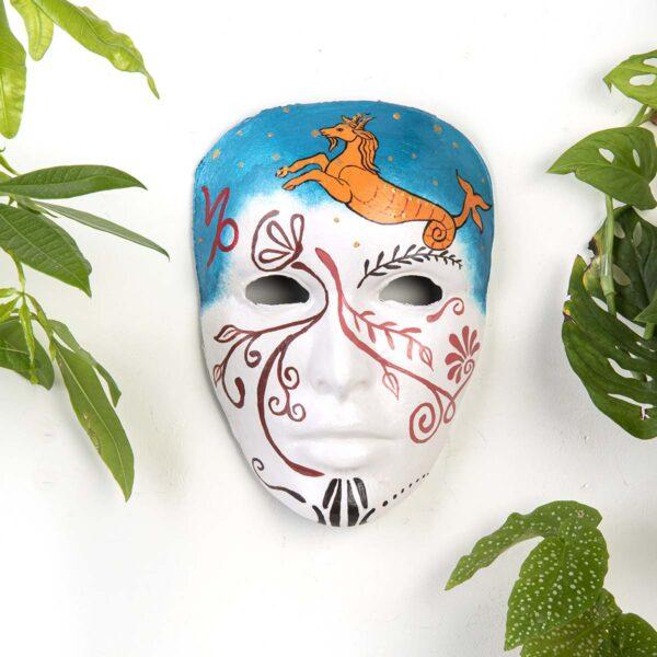 Duvar Dekoru Maske – Oğlak Burcu