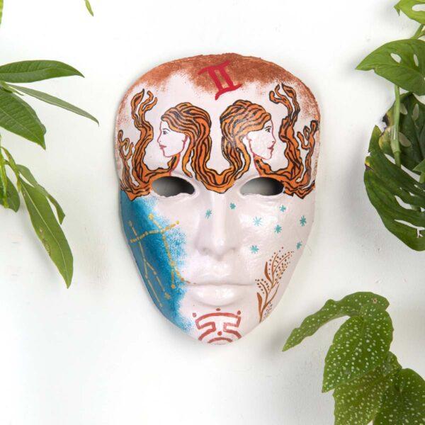 Duvar Dekoru Maske – İkizler Burcu