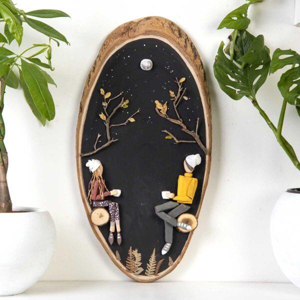 Duvar Panosu – Doğada Kahve Keyfi
