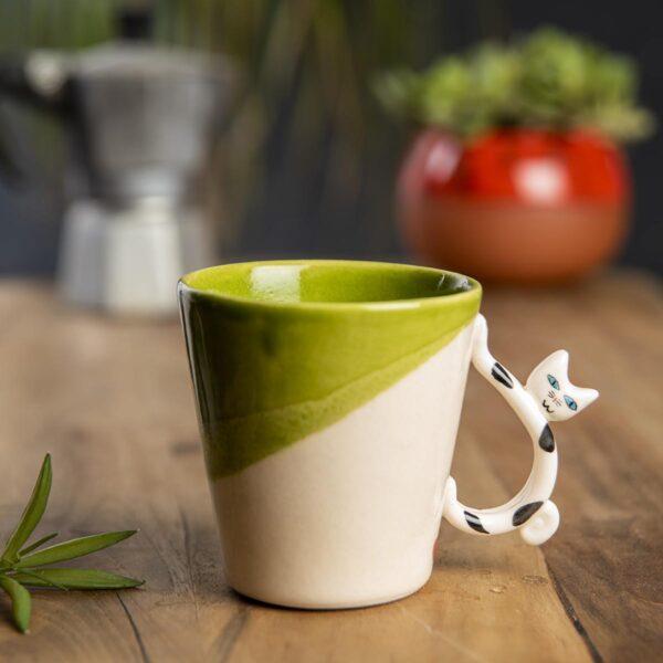 Seramik kupa kedili – 30 adet