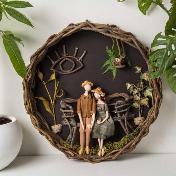 Duvar Panosu – Sevgilimle Kahve Keyfi