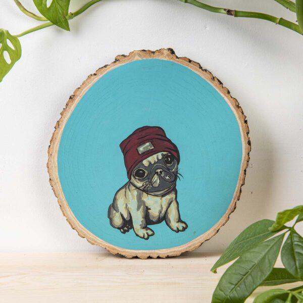 Duvar Panosu – Pug