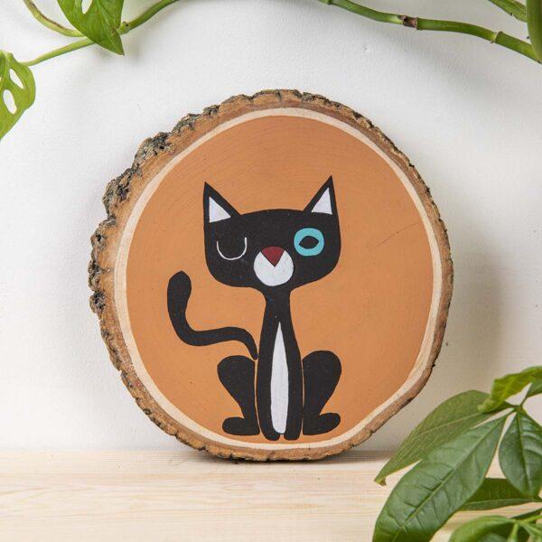 Duvar Panosu – The Cat