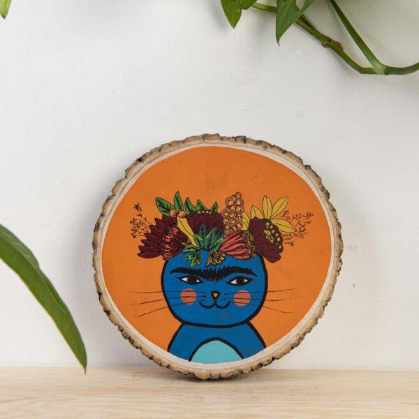 Duvar Panosu – Frida Cat