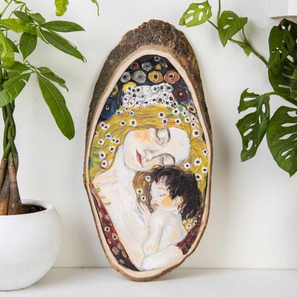 Duvar Panosu – Mother and Child