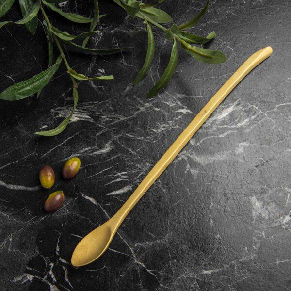 Ağaç Kahve & Sos Kaşığı – Portakal