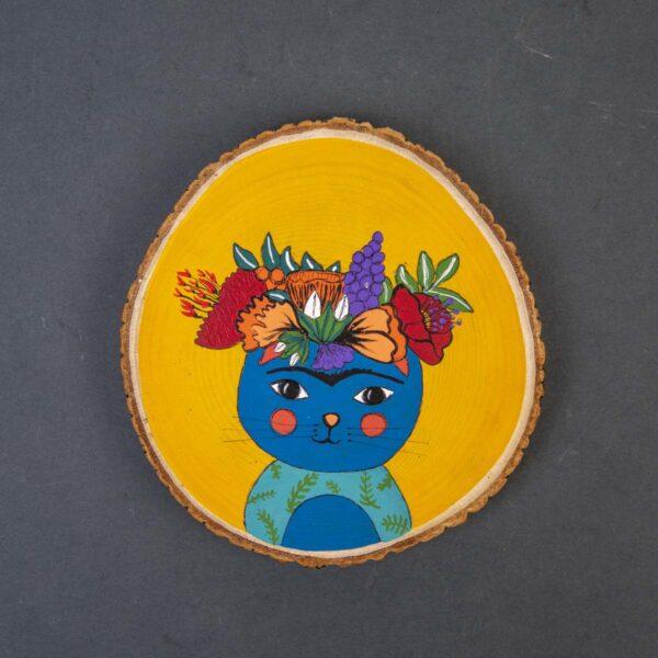Duvar Panosu – Frida Kedisi