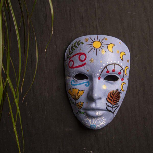 Duvar Dekoru Maske – Yengeç Burcu