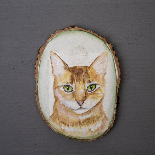 Sulu boya Duvar Panosu – Kedi