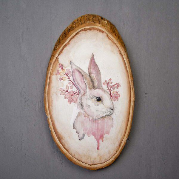 Sulu boya Duvar Panosu – Rabbit